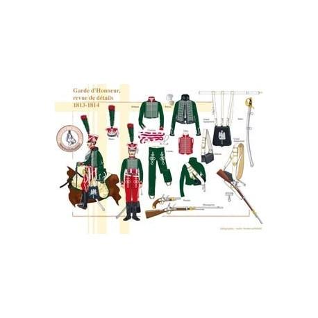 Garde d'Honneur, revue de détails, 1813-1814