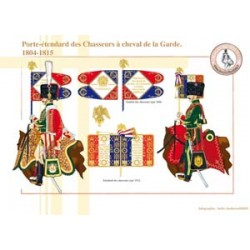 Standard bearer of the Chasseurs à cheval de la Garde, 1804-1815