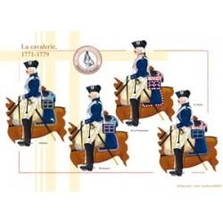 Französische Kavallerie, 1771-1779
