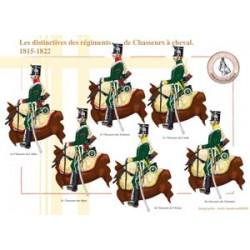 Die Besonderheiten der Chasseurs à cheval Regimenter, 1815-1822