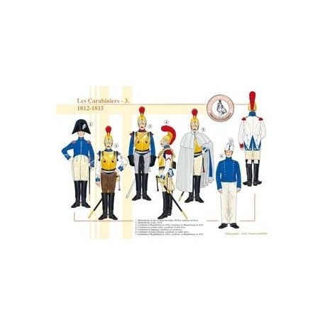 The French carabiniers (3), 1812-1815