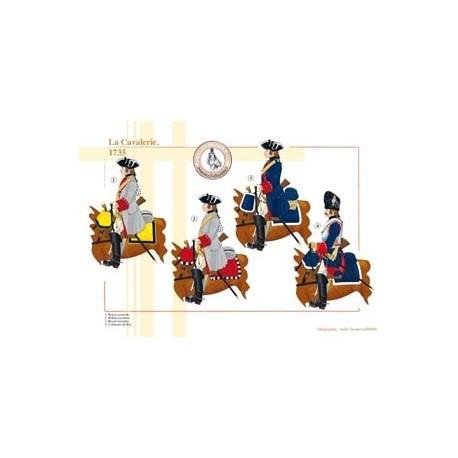 La Cavalerie, 1735