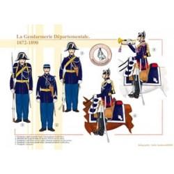 La Gendarmerie Départementale, 1872-1890