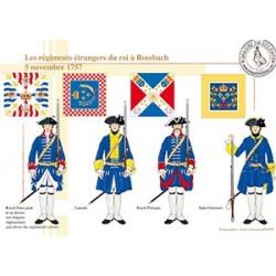 Les régiments étrangers du Roi à Rossbach, 5 novembre 1757