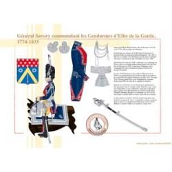 General Savary, Befehlshaber der Elite-Gendarmen der Garde, 1774-1833