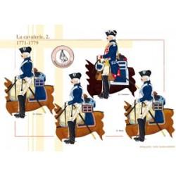 Französische Kavallerie (2), 1771-1779