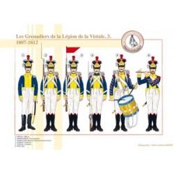 Grenadiere der Weichsellegion (3), 1807-1812