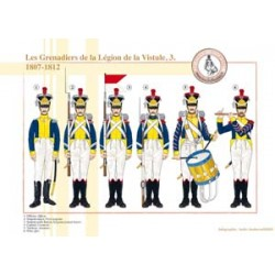 Grenadiers of the Vistula Legion (3), 1807-1812