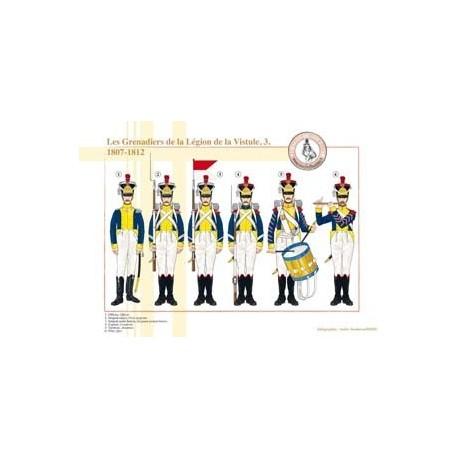 Les Grenadiers de la Légion de la Vistule (3), 1807-1812