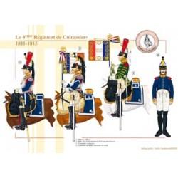 Le 4ème Régiment de Cuirassiers, 1811-1815