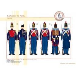 La Garde de Paris, 1854