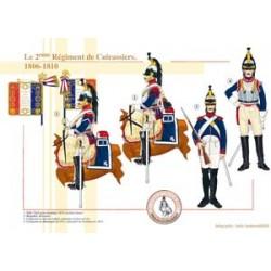 Das 2. französische Kürassier-Regiment, 1806-1810