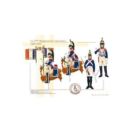Le 2ème Régiment de Cuirassiers, 1806-1810