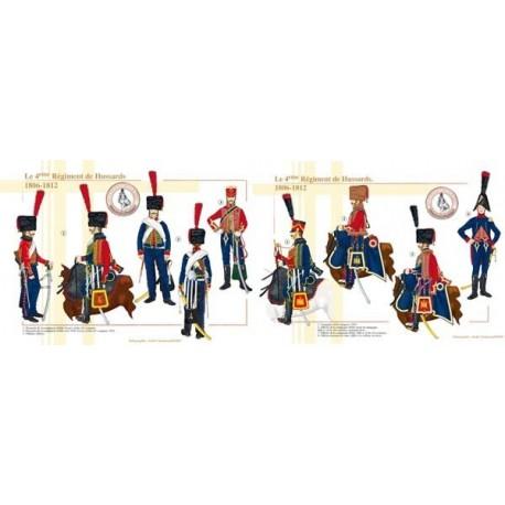Le 4ème Régiment de Hussards, 1806-1812
