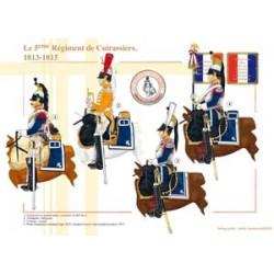 Le 5ème Régiment de Cuirassiers, 1813-1815