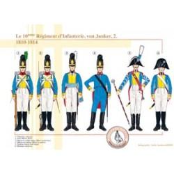 Le 10ème Régiment d'Infanterie, von Junker (2), 1810-1814