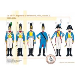 The 10th Infantry Regiment, von Junker (2), 1810-1814