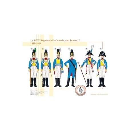 The 10th Infantry Regiment, von Junker (2), 1810-1814