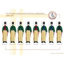 Die Füsiliere des Königreichs Preußen, charakteristisch, 1800-1807