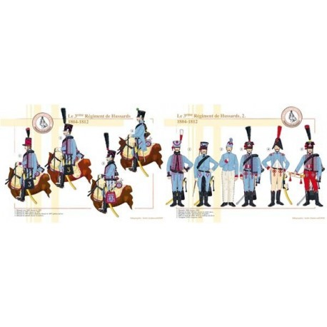 The 3rd French Hussar Regiment, 1804-1812