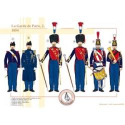 La Garde de Paris (2), 1854