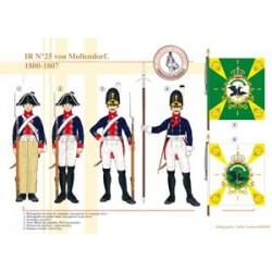 IR N°25 Mollendorf, 1800-1807