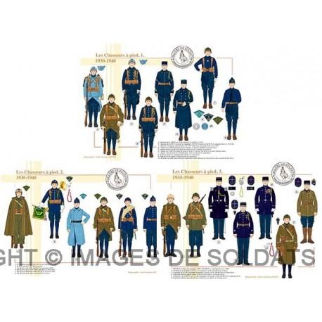 Les Chasseurs à pied, 1935-1940