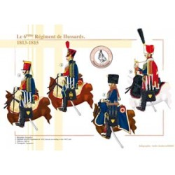 The 6th French Hussar Regiment, 1813-1815
