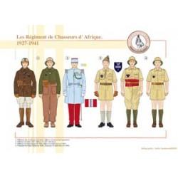 Die afrikanischen Jägerregimenter, 1927-1941