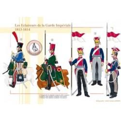 Pfadfinder der französischen kaiserlichen Garde, 1813-1814