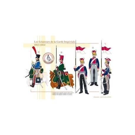 Les Éclaireurs de la Garde Impériale, 1813-1814