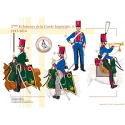 2. Pfadfinder der französischen kaiserlichen Garde (4), 1813-1814