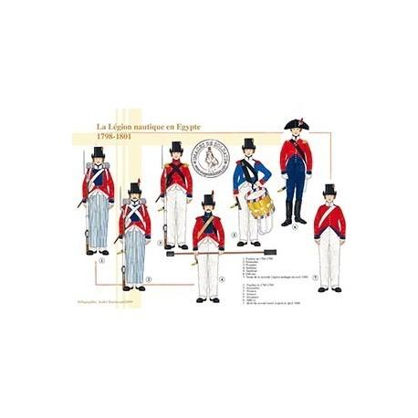 La légion nautique en Egypte, 1798-1801