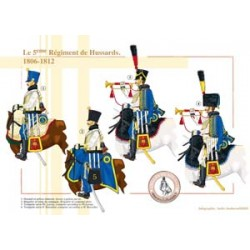 Das 5. französische Husarenregiment, 1806-1812