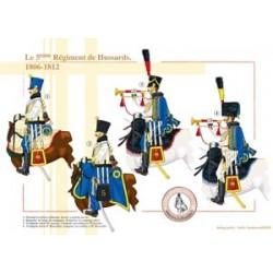 Le 5ème Régiment de Hussards, 1806-1812