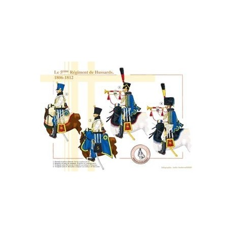 The 5th French Hussar Regiment, 1806-1812