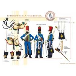 Le Hussard français de 1813, revue de détails