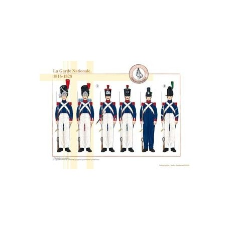 The French National Guard, 1816-1828