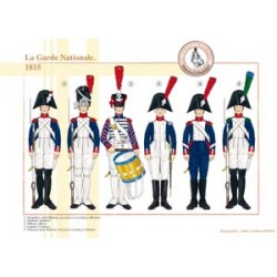 The French National Guard, 1815