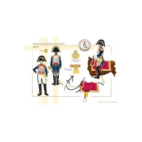 Général de grosse cavalerie, 1810