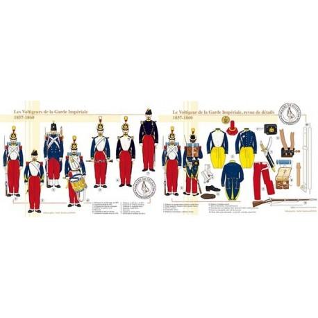 Les Voltigeurs de la Garde Impériale, 1857-1860
