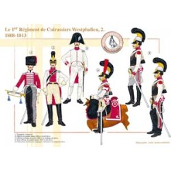 The 1st Westphalian Cuirassier Regiment (2), 1808-1813
