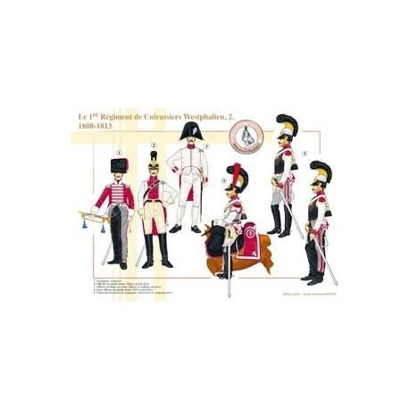 Le 1er Régiment de Cuirassiers Westphalien (2), 1808-1813