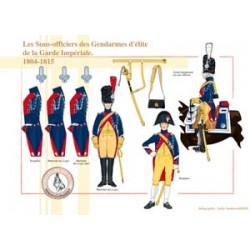 The NCOs of the elite Gendarmes of the Imperial Guard, 1804-1815