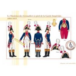 Der Musiker der Grenadiere zu Fuß der kaiserlichen Garde, 1804-1815