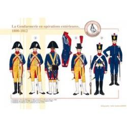 La Gendarmerie en opérations extérieures, 1800-1812