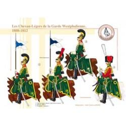 Les Chevau-Légers de la Garde Westphalienne, 1808-1812