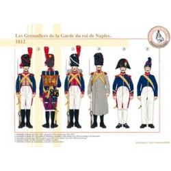 Les Grenadiers de la Garde du roi de Naples, 1812