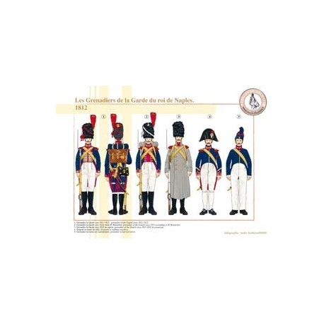 The Grenadiers of the Guard of the King of Naples, 1812