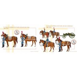 The Guard's Artillery Train, sub-shank horses and conductors, 1807-1812